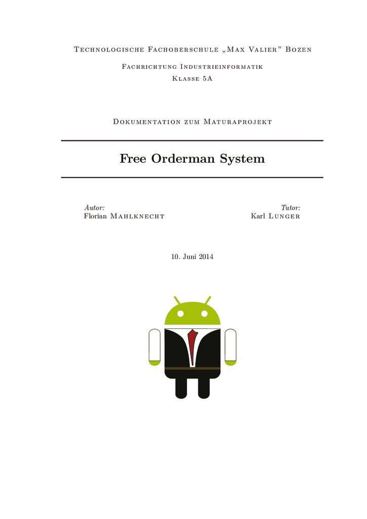 thumbnail of FM – Free Orderman System (2014)
