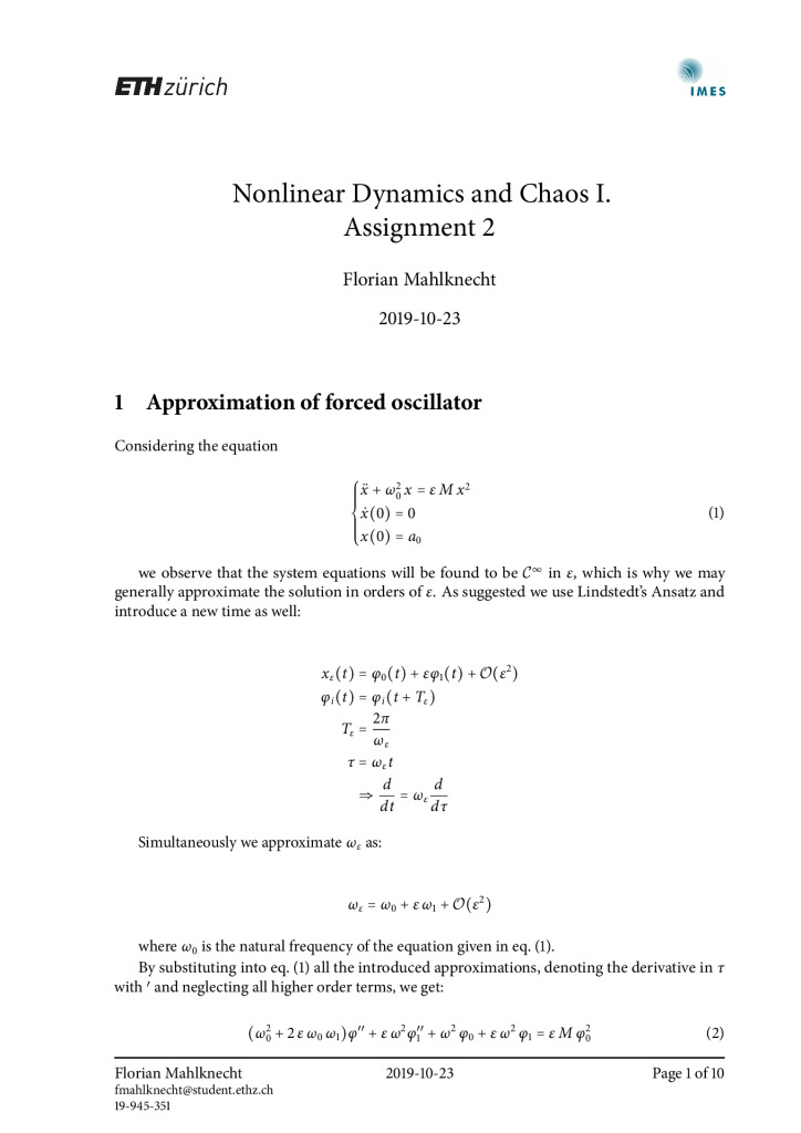 thumbnail of FM – Nonlinear Dynamics and Chaos I – Assignment 2