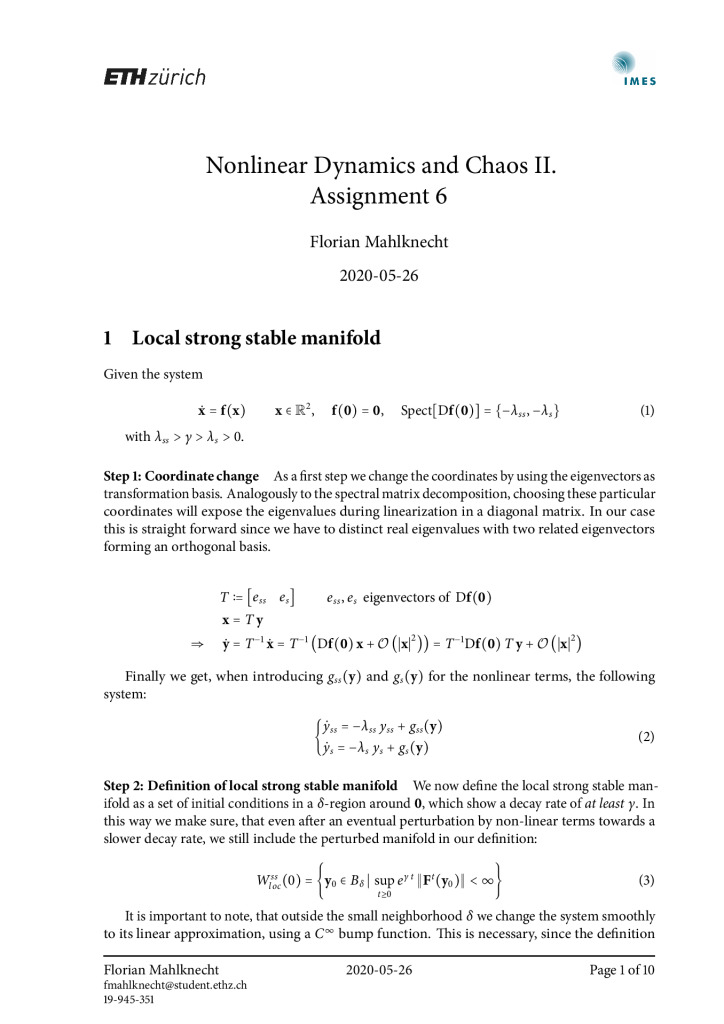 thumbnail of FM – Nonlinear Dynamics and Chaos II – Assignment 6